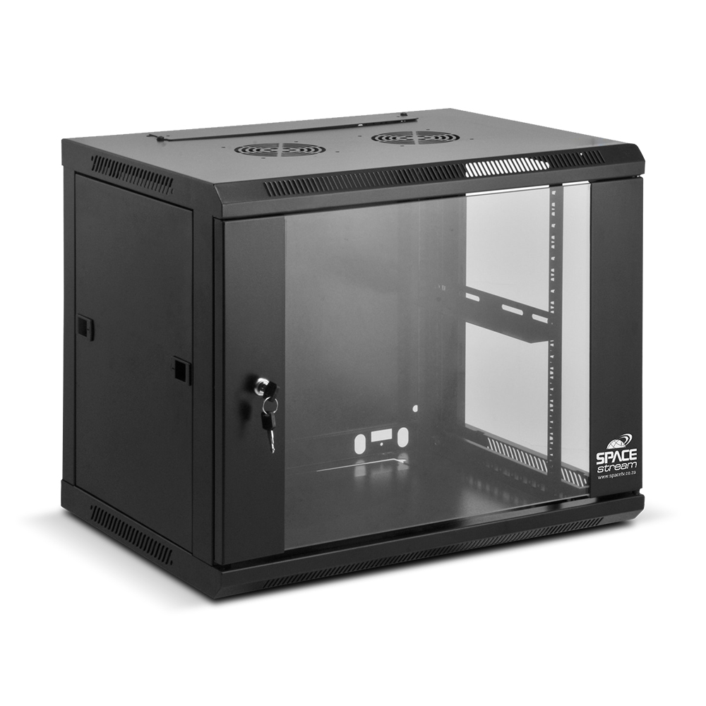 Sr 9ulockable 19 Fixed Wall Mounted Server Cabinet