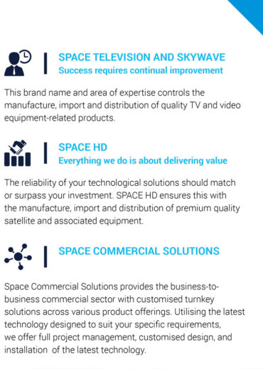About Space Televisions